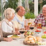 What is a Healthy Diet for elders and Barriers?